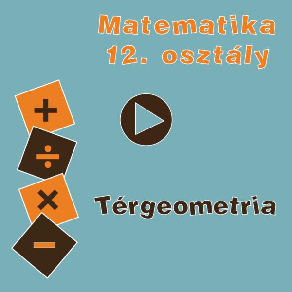 12osztTergeometria